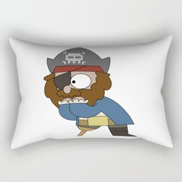 Pirate Shock Rectangular Pillow