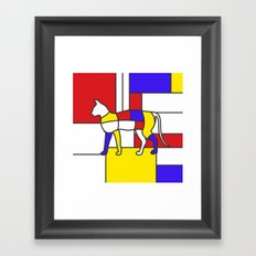 Pet Miaowdrian Framed Art Print