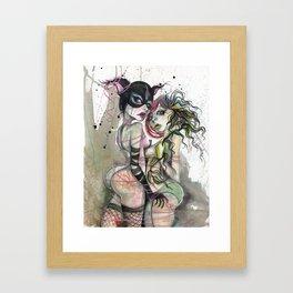 Tangled Delights Framed Art Print