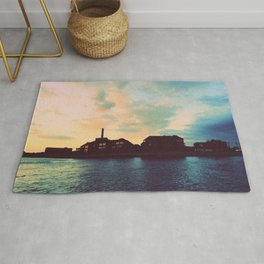 Sunset Off the wAter Rug