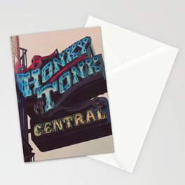 Nashville Honky Tonk  Stationery Cards