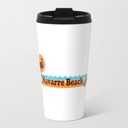 Navarre Beach - Florida Travel Mug
