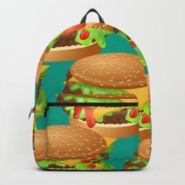 Double Cheeseburgers Backpack