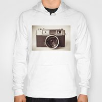vintage camera Hoodies featuring Camera by Tuky Waingan