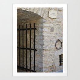 Beyond the Gate Art Print