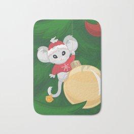 Christmas Mouse Bath Mat