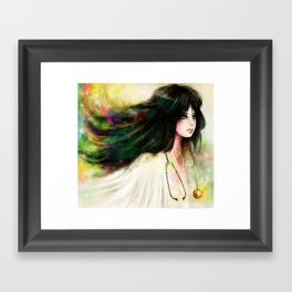 MAGICAL DOCTOR Framed Art Print