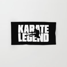 Karate Legend Hand & Bath Towel
