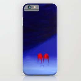 Engaged With Oblivious iPhone Case