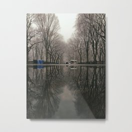 Reflected Central Park Metal Print