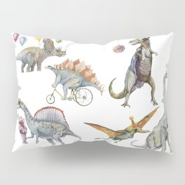 PARTY OF DINOSAURS Pillow Sham