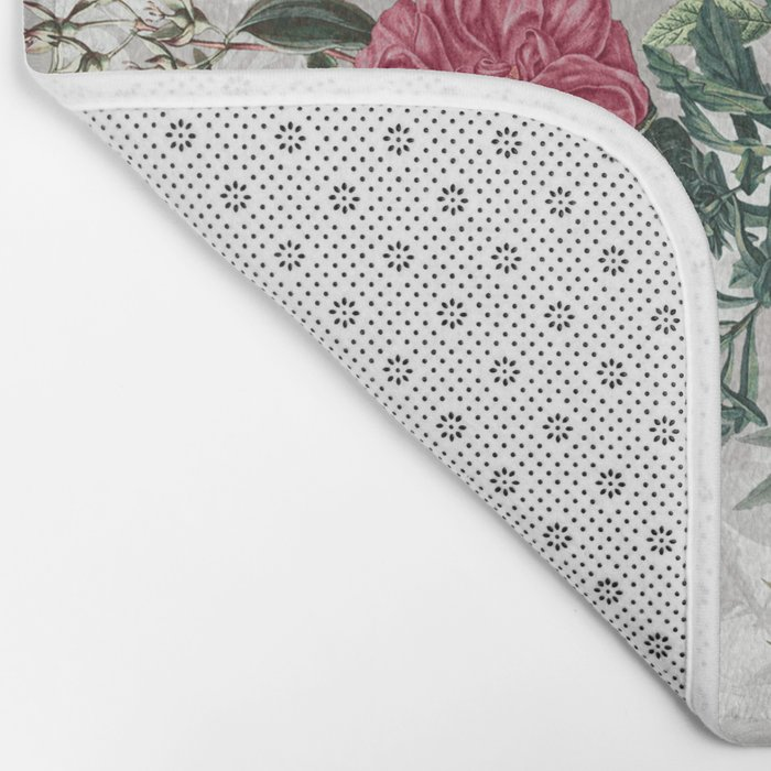 Beautiful Flowers Bath Mat