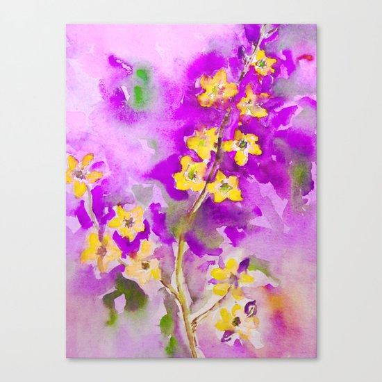 Sunshine On A Branch Canvas Print