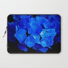 Deep Blue Hydrangea Laptop Sleeve