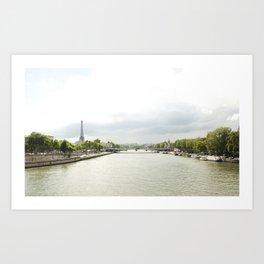 Paris River Seine Art Print