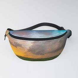 Glorious - Stormy Sky and Kansas Sunset Fanny Pack
