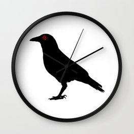 Shisui Uchiha's Crow from Naruto Shippuden Wall Clock