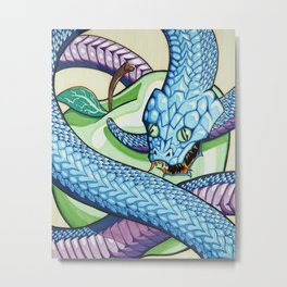 The Ancient Serpent Metal Print