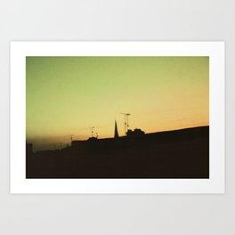 Derry Sky Art Print