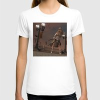 steam punk T-shirts featuring Steam Punk - The Crows by J. Ekstrom
