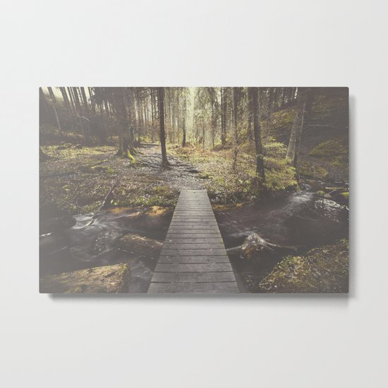 My home, the forest Metal Print
