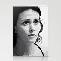 melissa smith Stationery Cards featuring melissa ponzio by Finduilas