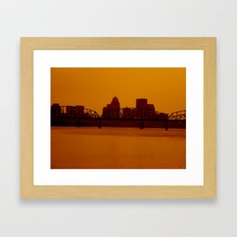 Take a step back.  Framed Art Print