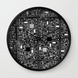 Serious Circuitry Wall Clock