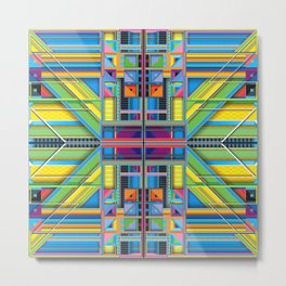 J.Series.30.Symmetrical Metal Print