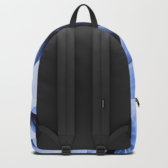 Blue Foliage Backpack