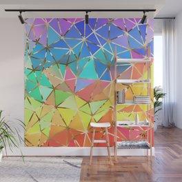 Rainbow geometric #10 Wall Mural