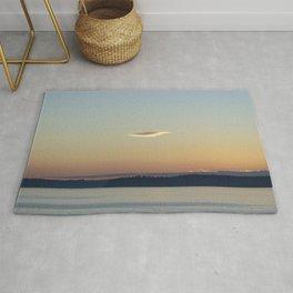 Sunset Cloud Minimalism Rug