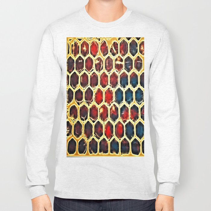 Hexy Bubbles Long Sleeve T-shirt