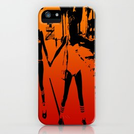 The Girls of Summer iPhone Case
