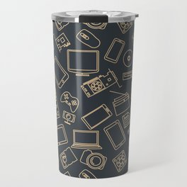Video Games Pattern | Gaming Console Computer Play Travel Mug