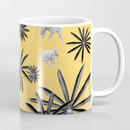 Palm Tree Elephant Jungle Pattern #4 (Kids Collection) #decor #art #society6 Coffee Mug