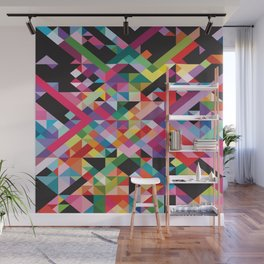 Geometric Kaos Wall Mural