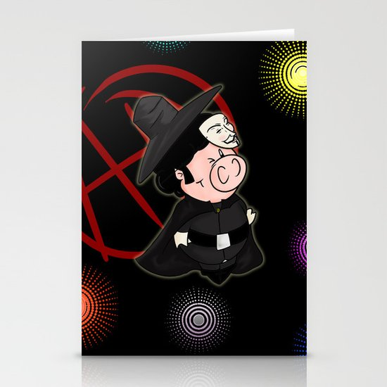 Guy Fawkes Stationery Cards
