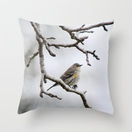 a spot of color Throw Pillow