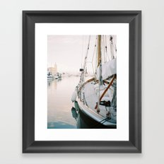 La Ciotat - Boat Framed Art Print