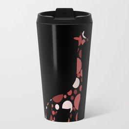 High Class Polka Dots Giraffe Travel Mug
