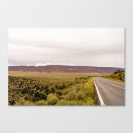 Road to the Grand Canyon Canvas Print