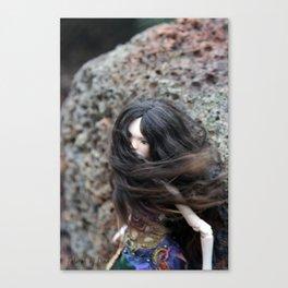Talarah in the rain Canvas Print