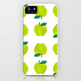 Granny Smith Apples for Days iPhone Case
