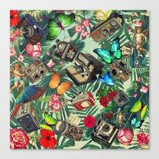 tropical vintage Canvas Print