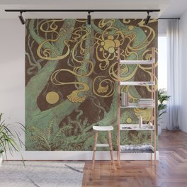 Epiphycadia V: Copper Wall Mural