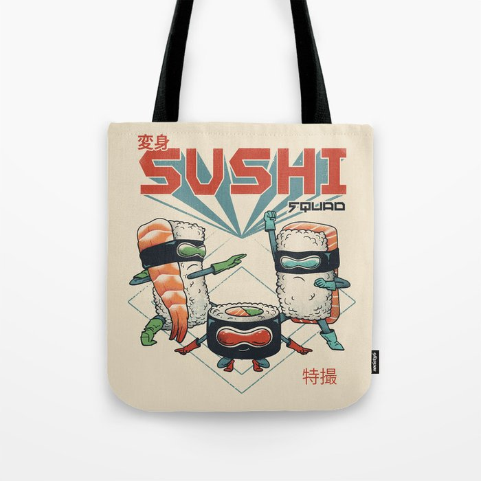 Sushi Squad Tote Bag