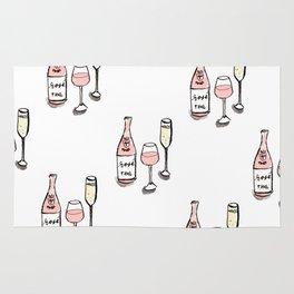 PATTERN II Rosé & Sparkling Wine Rug