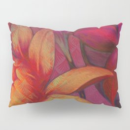 """Retro Giant Floral Pattern"" Pillow Sham"