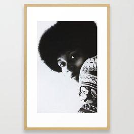 9: Rhinoceros Women Series Framed Art Print